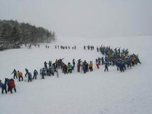 雪中行軍1