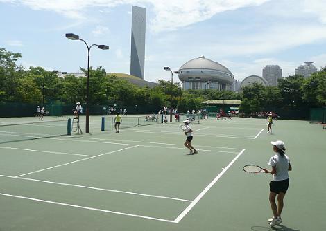 テニス有明090725‐1