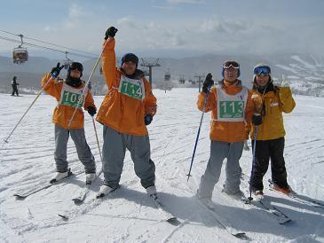 スキー大好き!