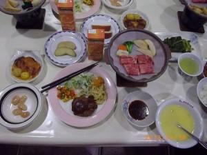 夕食130115